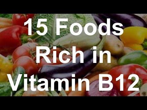 About Vitamin B12 Foods